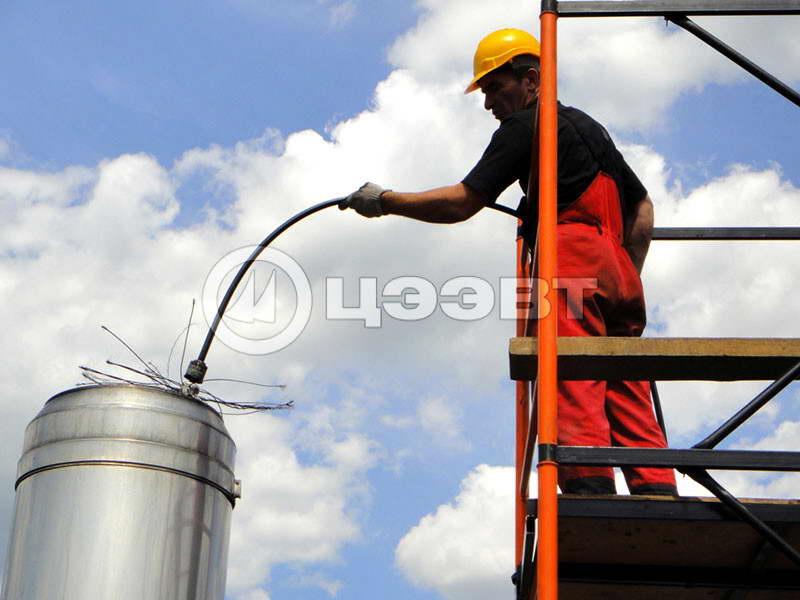 Очистка промышленных газоходов
